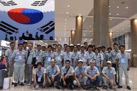 Thông báo danh sách lao động xuất cảnh đi làm việc tại Hàn Quốc ngày 13/05/2021