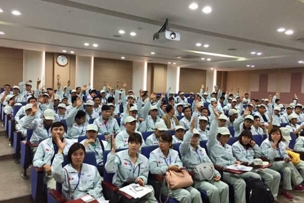 Thông báo kết quả Kỳ thi tiếng Hàn và kế hoạch kiểm tra tay nghề Đợt 2 năm 2020 trong ngành Sản xuất chế tạo